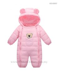 Baby Cute Hooded Winter Romper