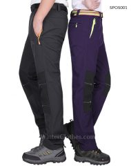 Lightweight Durable Fleece LIning Hiking Pants