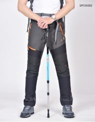 Seamless Insulated Hiking Outdoor Winter Pants Fleece Lining