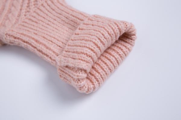 Women Open Knit Shawl Cardigan