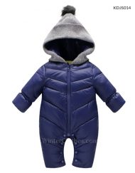 Baby Hooded Winter Romper