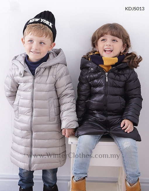 ef3653cbc Toddlers Kid Winter Long Down Jacket - Winter Clothes