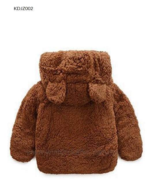 8b2d019b6 Baby New Born Winter Fleece Jacket Hooded With Cute Bear Ear ...