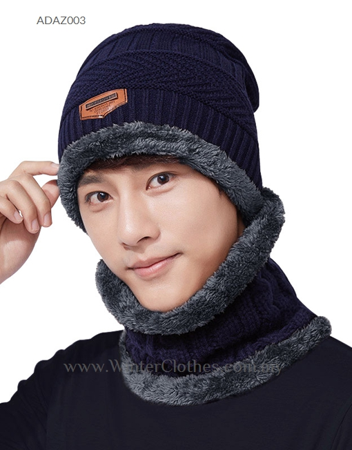 Winter Hat Neck Warmer Mask 3 in 1 Scarf - Winter Clothes 78447d9538d