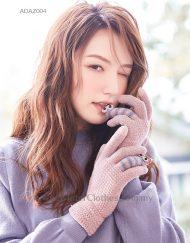 Women Winter Glove Cute Design Warm Wool TouchScreen Enable Glove