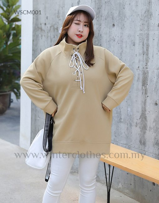 bd93e7fa16733 Women Plus Size High Neck Pullover Sweater - Winter Clothes