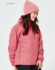 3 In 1 Waterproof Breathable Venture Jacket for Women