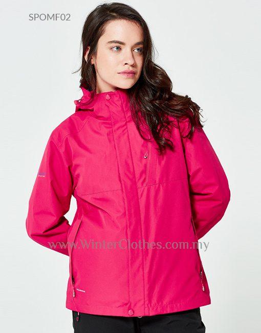 3 In 1 Waterproof Breathable Venture Jacket for Women