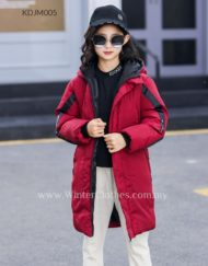 Kids Teen Winter Mid Length Coat Padded Jacket
