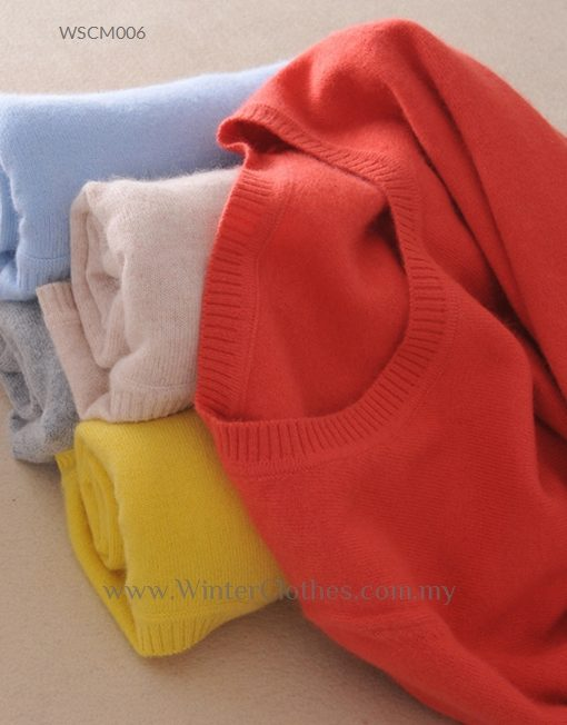 Women 16 Colors Classic Base Layers Cashmere Knit Wear