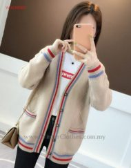 Women 4 colors Plaid Front Closure Cardigans Jacket
