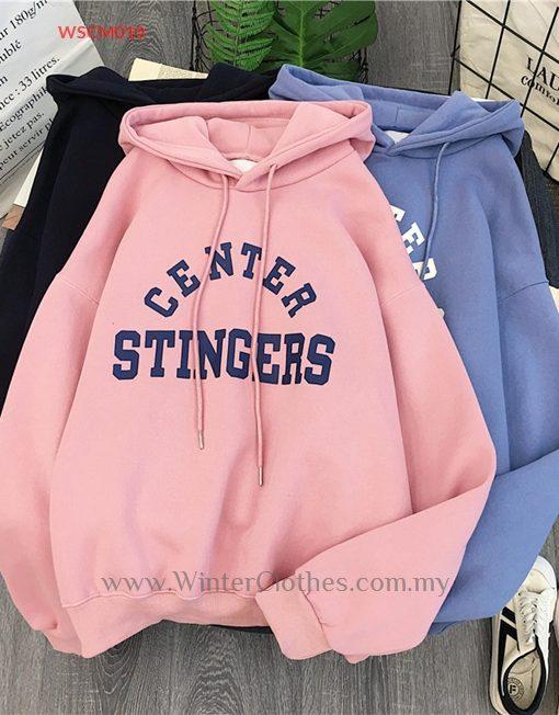 Women 6 colors Korean Style Oversize Sweater Hoodie