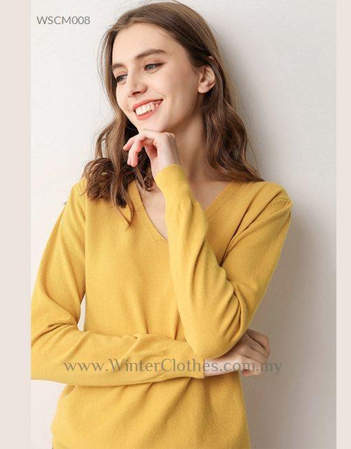 Women 8 Colors Basic V neck Cardigans