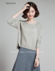 Women Knit Wear Bat Wing Winter Cardigan