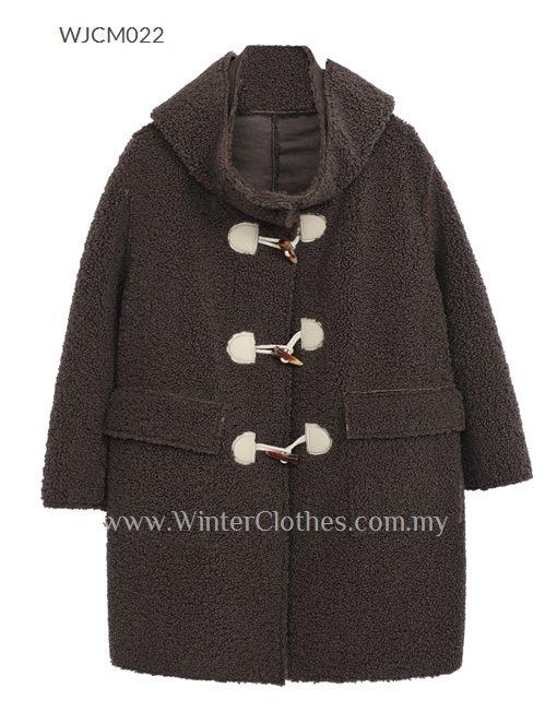 Women Plus Size Polar Fleece Teddy Coat