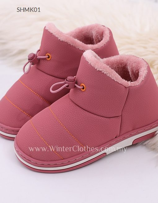 Kids Water Resist Fleece LIning Winter Shoes