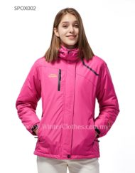 Women Fleece Lining Waterproof Venture Jacket